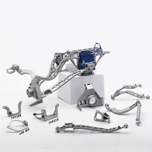 BMW E36 Rear Rally Suspension kit for E60M Diff