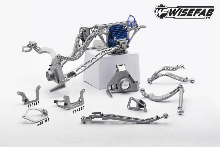 BMW e36 Rally e60M Final Drive Kit